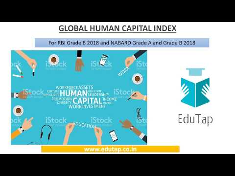 Global Human Capital Index explained for RBI and NABARD 2018