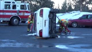 Extrication - Vehicle Stabilization (Side)
