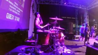 Begundal Lowokwaru - Equality Live at Jember Indie Clothing 2016 [Drum Cam]