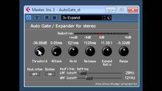 AutoGate / Expander for Stereo by Slim Slow Slider