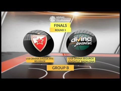 EB ANGT Finals Highlights: U18 Crvena Zvezda mts Belgrade - U18 Divina Seguros Joventut Badalona