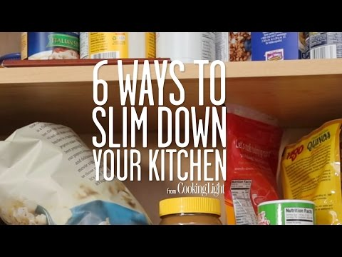 6 Ways to Slim Down Your Kitchen | Healthy Eating | Cooking Light
