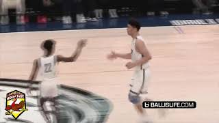 Bronny James and Zaire Wade first game On NBA Court