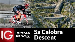 Team IG-Sigma Sport Cycling descend Sa Calobra, Mallorca
