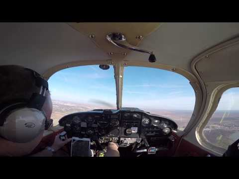 PA-28-180 From San Angelo Class D Airspace to Bourland GOOD TIMES!