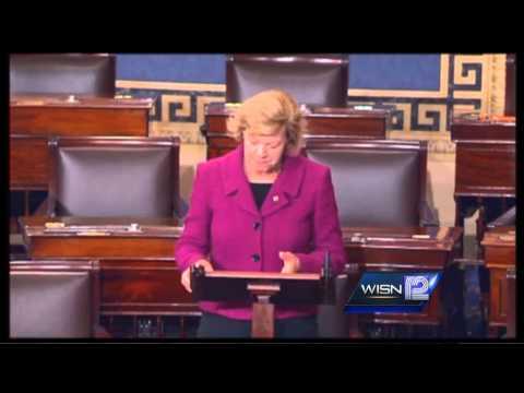 RAW: Tammy Baldwin makes first Senate floor speech
