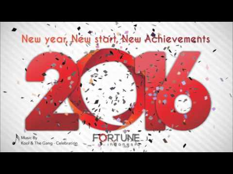 E-card New Year Greetings 2016 By Fortune Indonesia, Advertising Agency in Jakarta, Indonesia
