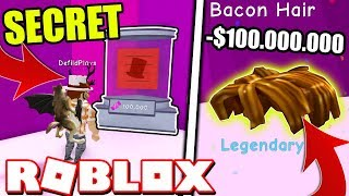 I GOT THE RAREST SECRET LEGENDARY HATS IN BUBBLE GUM SIMULATOR UPDATE! Roblox