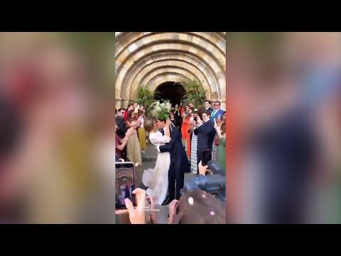 María Pombo y Pablo Castellanos ya son marido y mujer