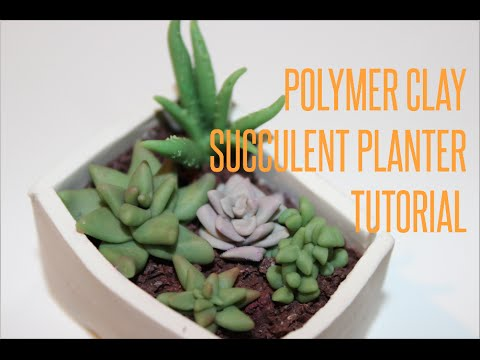 how to fix a clay planter