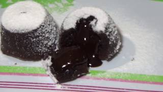 Membuat Kue cocholava - make choco lava cake