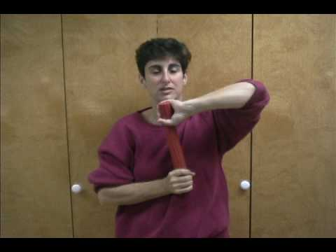 How to Cure Your Elbow Problems in 5-minutes a Day - Theraband