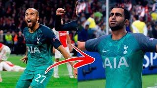 Recriamos as MAIORES VIRADAS da Champions League 2019 no FIFA 19!