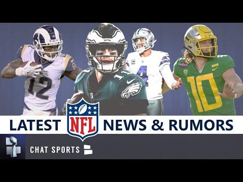 NFL News & Rumors: Latest On Brandin Cooks, Laremy Tunsil, Justin Herbert, New Rules, Dak Vs. Wentz