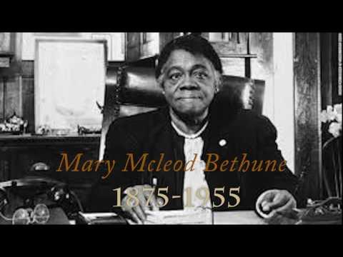Mary Mcleod Bethune Documentary