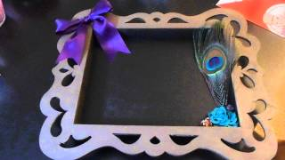 Heidi Swapp Altered Wood Shadow Box Frame