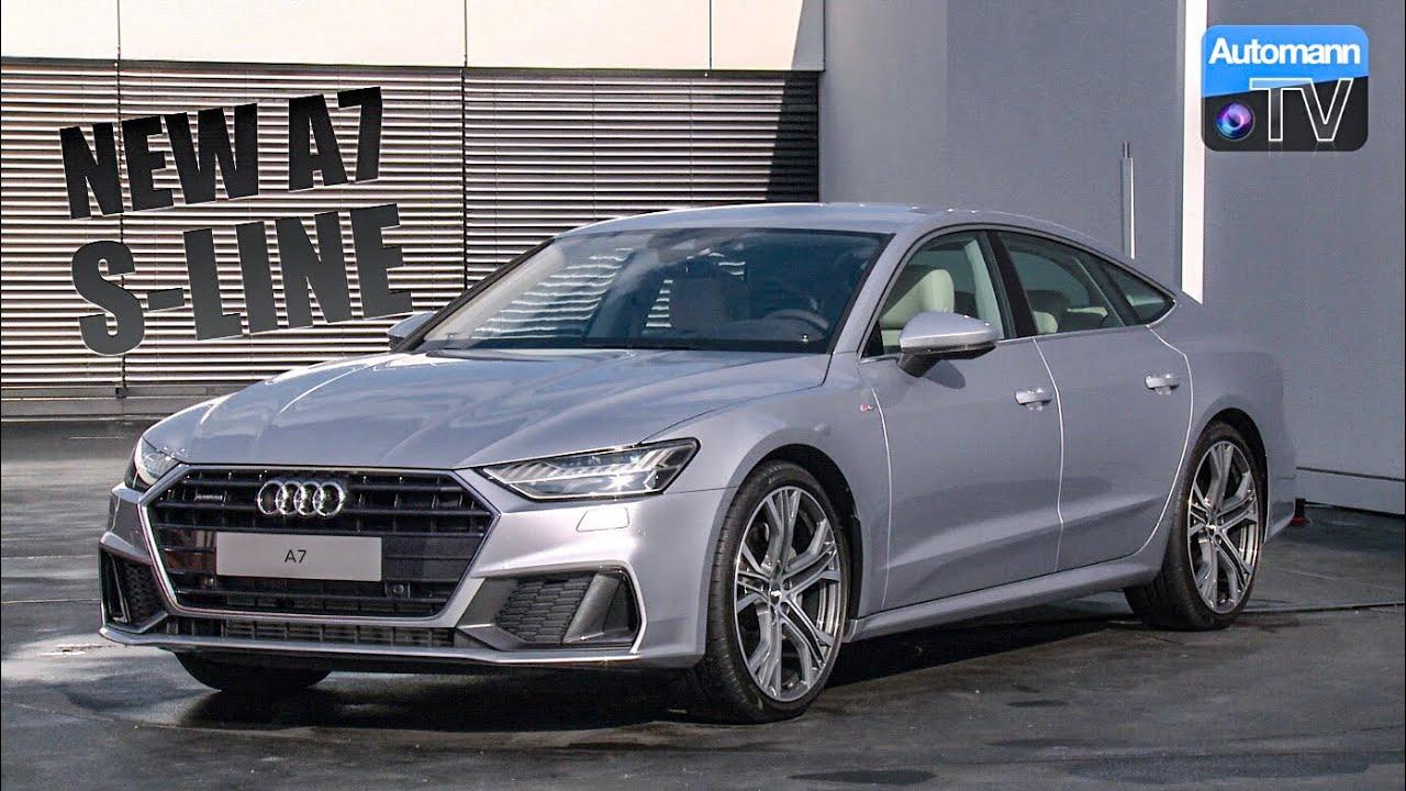 2018 Audi A7 55 Tfsi S Line Detailed Tour 60fps Youtube