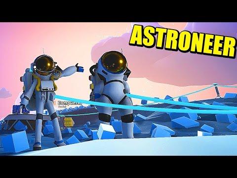 ASTRONEER - SOLOS EN EL PLANETA - Survival espacial | Gameplay Español