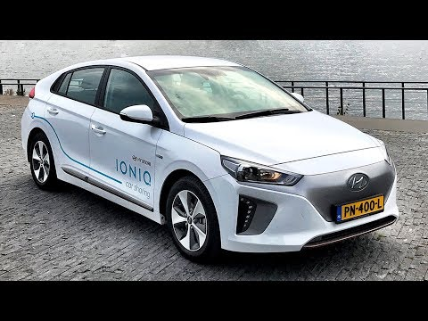 Hyundai Ioniq Electric Car Sharing in Amsterdam - Report