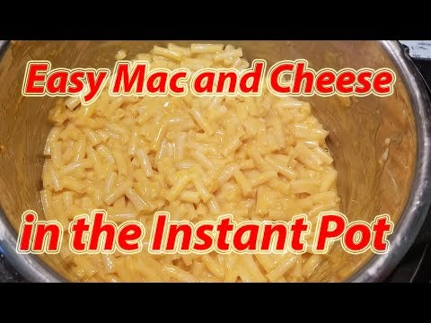 How to Make Macaroni and Cheese in an Instant Pot | Easy Mac & Cheese thumbnail