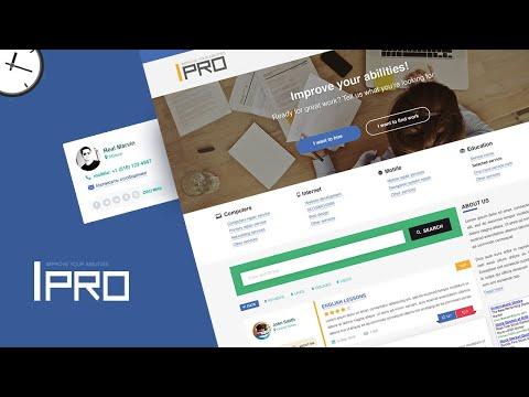 web-design-speedart---ipro,-freelance-project