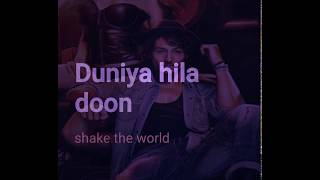 Feel the RhyThm song # lyrics video Munna Michael