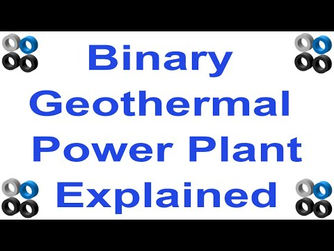 How Does A Binary Geothermal Power Station Work?