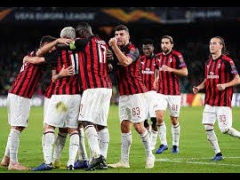 Betis vs AC Milan  1-1 Goals - Highlights  09/11/2018 Mp3