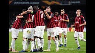 Download Video Betis vs AC Milan |1-1|Goals - Highlights| 09/11/2018 MP3 3GP MP4