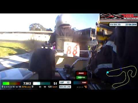 April Club Day Final Hugh Barter Racing 2014