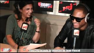 Taio Cruz écoute la chanson de Jean-Pascal - C
