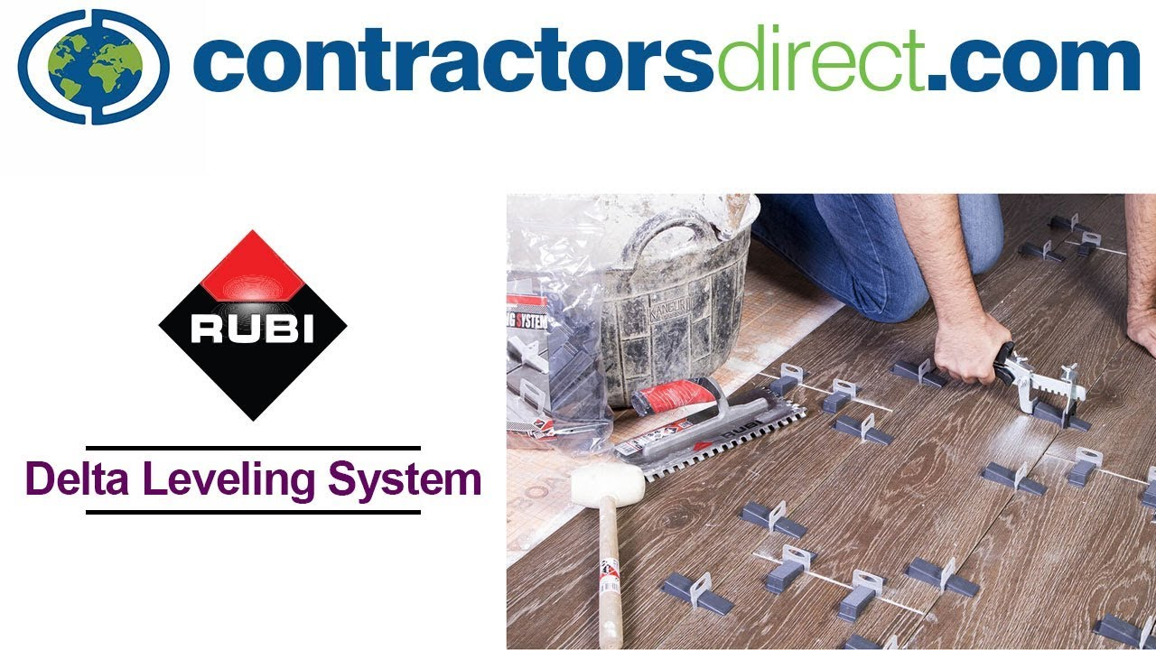 rubi delta system tile leveling system from contractors direct