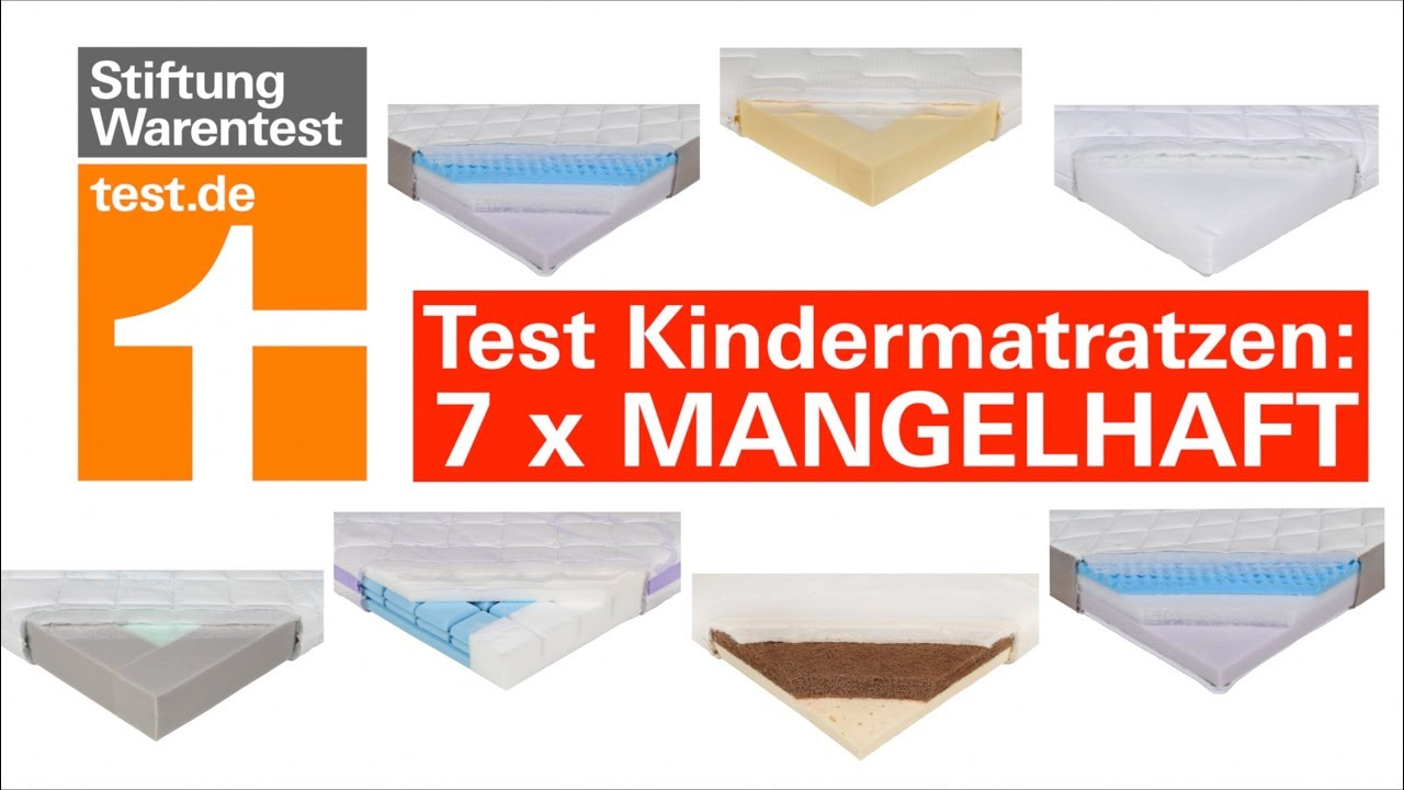 Kindermatratzen Test Stiftung Warentest Okotest