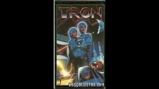 Opening And Closing To Tron 1983 VHS