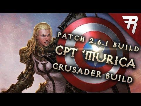 Diablo 3 2.6.1 Crusader Build: Captain America GR 110+ (Guide, Season 12, PTR)