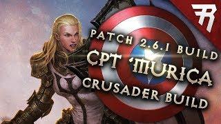 Diablo 3 2.6.4 Crusader Bouwen: Captain America GR 110+ (Gids, Seizoen 16)