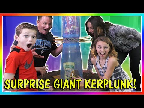 GIANT KERPLUNK THE FUN WAY! | We Are The Davises