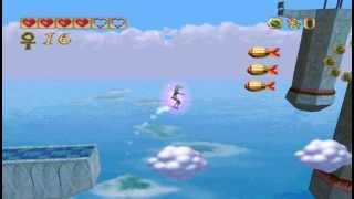 Pandemonium PC gameplay. (HQ).  Level 16 - Efreet Palace.