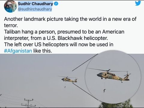 PolitiFact - Person hanging from helicopter in Afghanistan appears ...