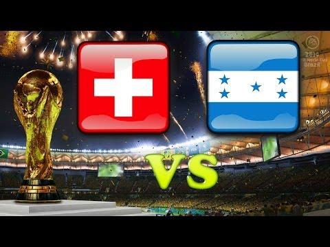 WM 2014* - Honduras vs Schweiz - [HD+] [Full Game] [Gruppenphase] Let's Play Fifa 14