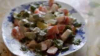 Как быстро похудеть Рыбные котлеты  Салат