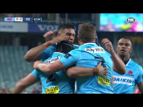 HIGHLIGHTS: 2018 Super Rugby Week #2: Waratahs v Stormers
