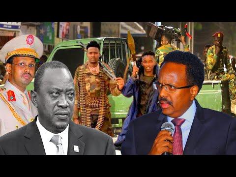 Deg Deg Kenya Oo Isku Dhiibtay Somalia, Ciidamo La Waregay Muqdisho