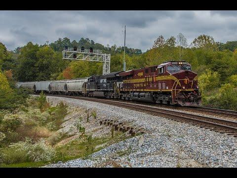 Railfanning around Chattanooga, TN: A 3 Heritage Weekend! (10/14-15/2016)