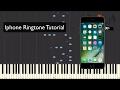 Toque de Iphone no Piano! Tutorial