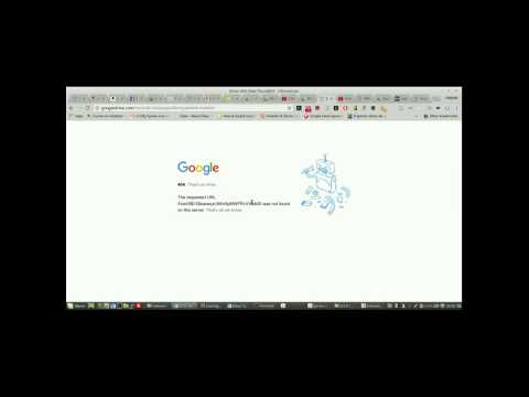 Error 404 Google Drive hosting gratis