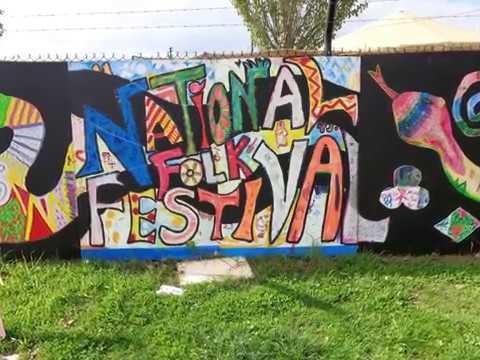 Friday @ The National Folk Festival, Canberra, 2017.Photo Slideshow.