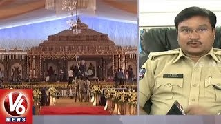 Hyderabad Police: Traffic Problems May Occur At City Outskirts Ahead Of Several Marriages | V6 News