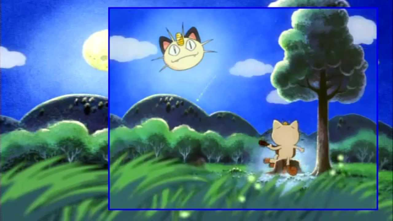 pokemon ending 2 nyasu no uta ポケモン ed 2 ニャースのうた - youtube