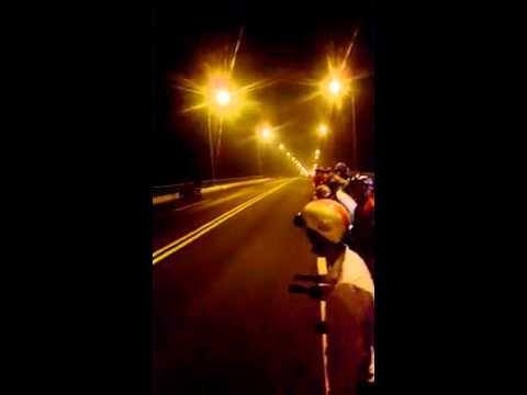 Đua Xe Tai Cầu Hàm Luôn Bến Tre Và Cái kết Tại Chân Cầu